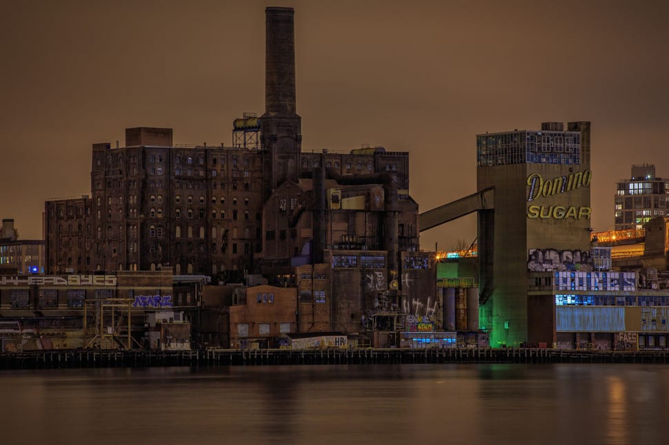 Abandoned Domino Sugar Factory -- Brooklyn, New York