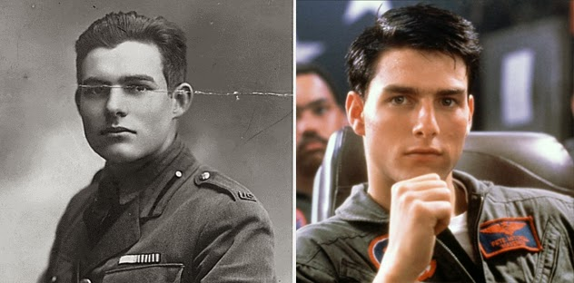 Tom Cruise and Earnest Hemmingway