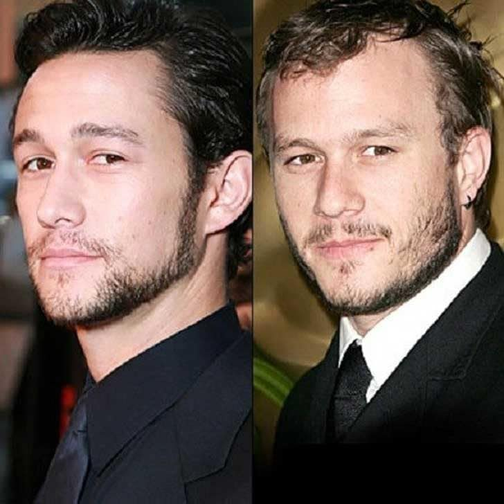 Joseph Gordon-Leavitt and Heath Ledger